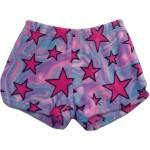 Swirly Stars Pajama Shorts Image