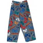 Grey Gamer Pajama Pants Image