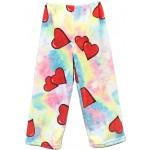 Tie Dye Hearts Pajama Pants Image
