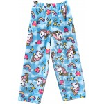 Blue Unicorns Pajama Pants Image