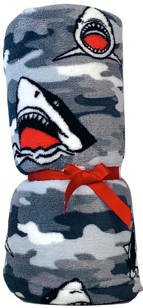 Grey Sharks Blanket