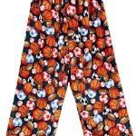 Hunter Green Sports Balls Pajama Pants Image