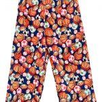 Navy Sports Balls Pajama Pants Image