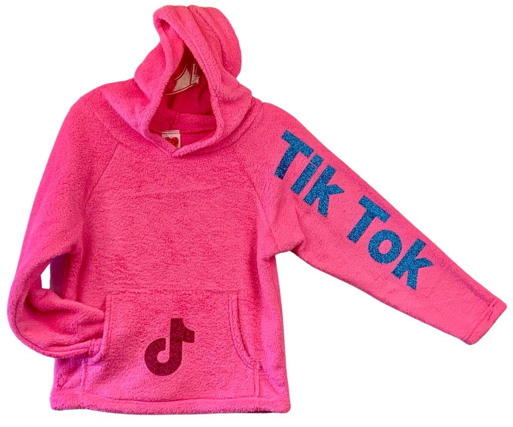 """Neon Pink """"Tik Tok""""  Sweatshirt"""