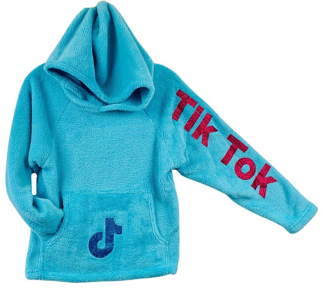 """Turquoise """"Tik Tok""""  Sweatshirt"""