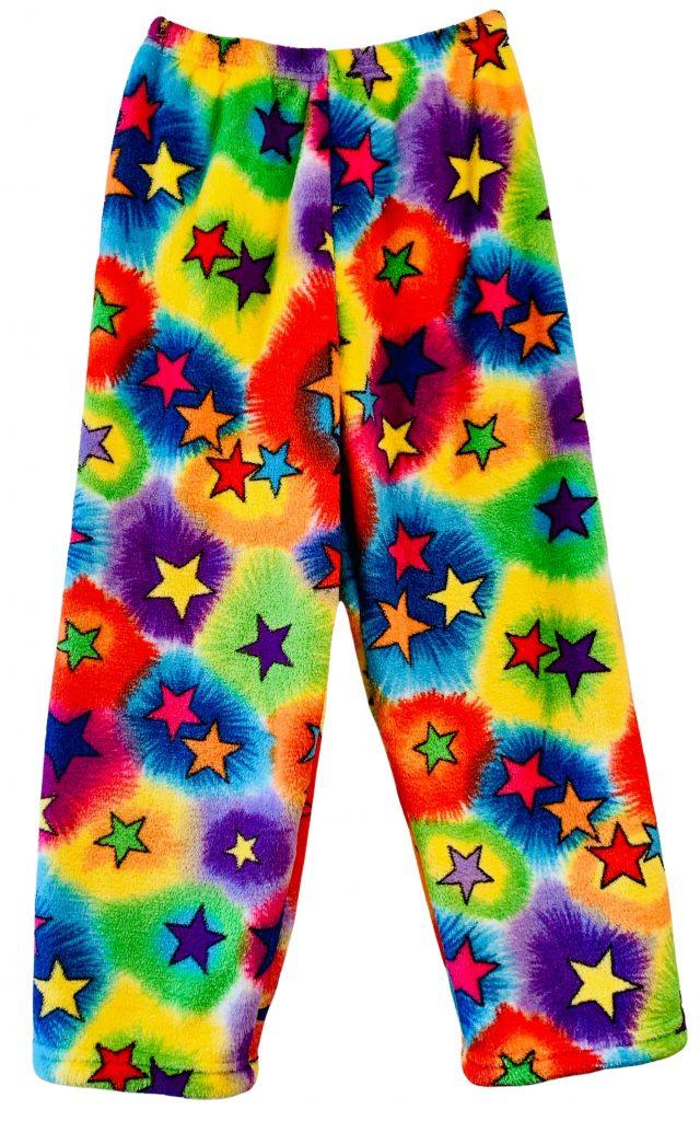 Tie Dye Stars Pajama Pants