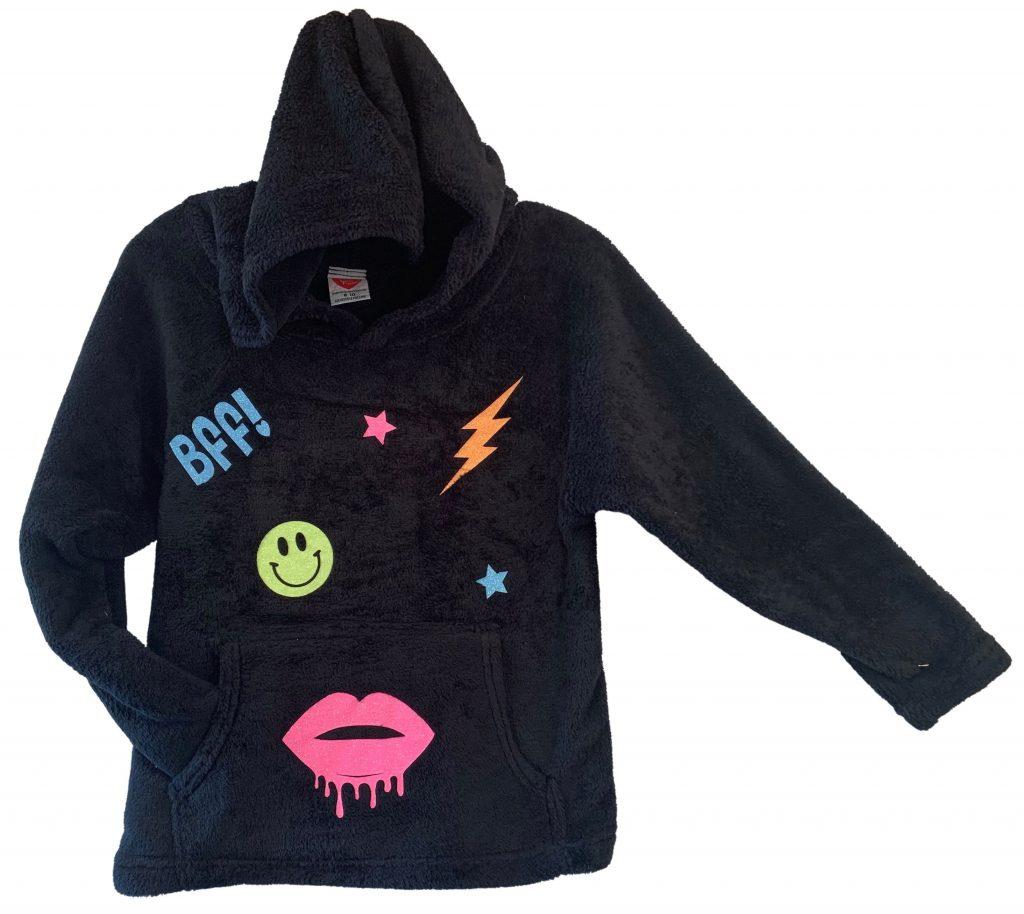 "Black ""Fun Stuff"" Sweatshirt"